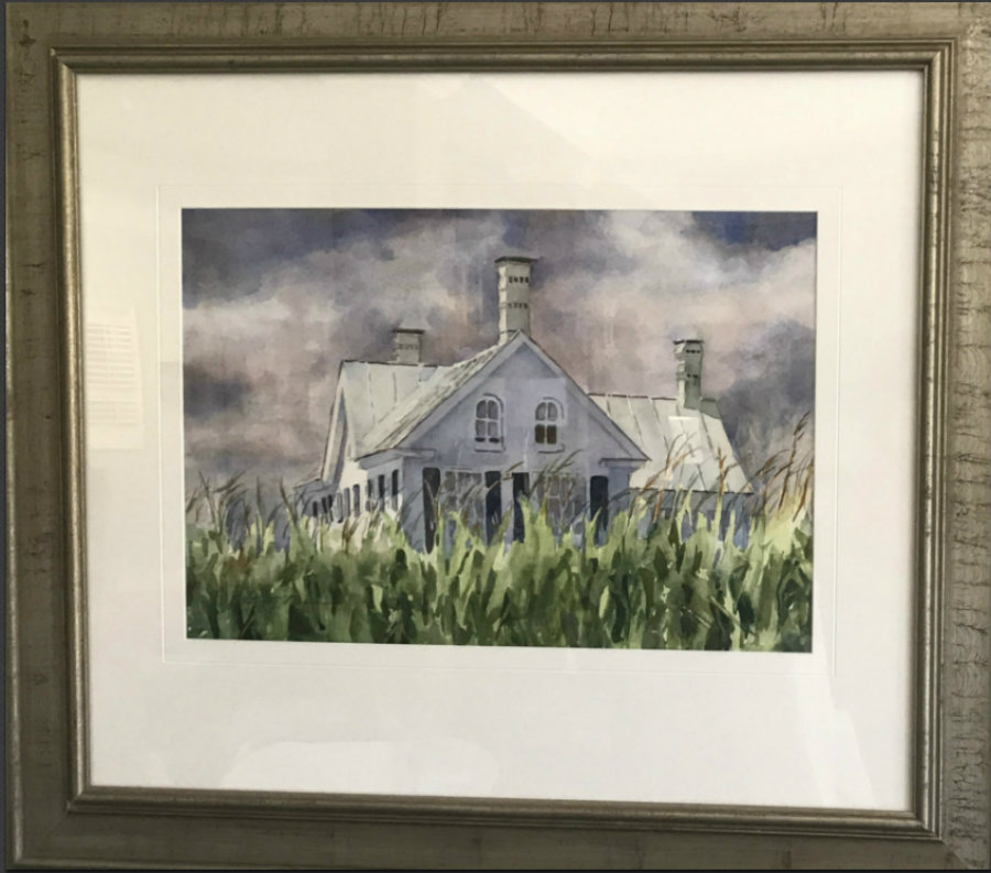 """Betty Brown, """"House in the Corn Field"""""""